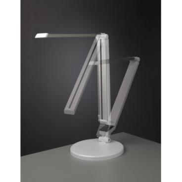 Carmen, stolná lampa, biela, 9 W, LED, NASLI
