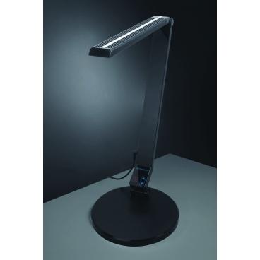 Carmen, stolná lampa, čierna, 9 W, LED, NASLI