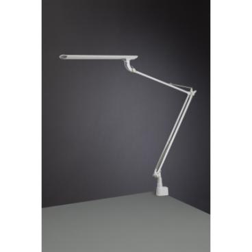 Tamie, stolné svietidlo s úchytom, biela, 12W, LED, Japonsko