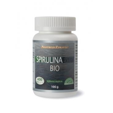 Spirulina Extra BIO (100g, 400 tabletiek) - výživový doplnok