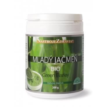 Mladý jačmeň BIO - Green Barley (200 g) - výživový doplnok