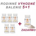 AKCIA Vitamín D3 Epigemic (Rodinné balenie 5+1) - výživový doplnok
