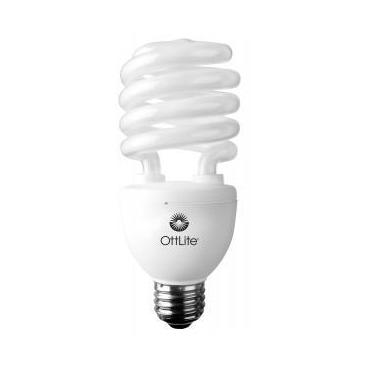 Plnospektrálna úsporná kompaktná žiariivka Ott-Lite, 25W