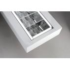 NASLI Festum 2x 54 W, stropné prisadené alebo závesné svietidlo