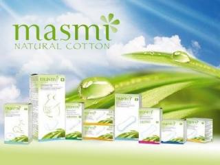Dámska hygiena z organickej bavlny MASMI